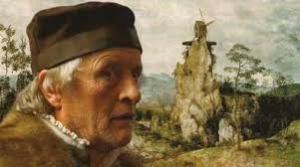 Rutger Hauer és el pintor Pieter Bruegel a El Molí i la Creu